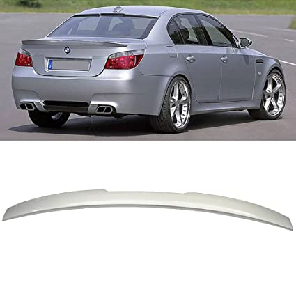 Roof Spoiler Fits Pre Painted 2004 2010 BMW E60 5 Series