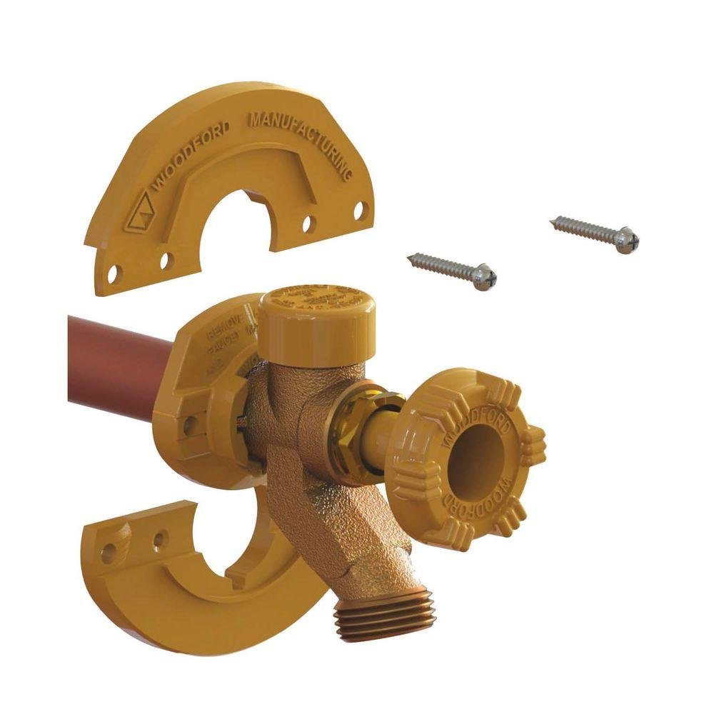 4-Piece Over Size Wall Flange Kit