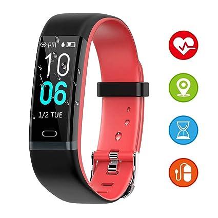 SUPTEMPO Fitness Tracker, Montre connectée Homme Femme et Enfants, Mode Sport, Cardiofrequencemètre et Pression artérielle, Smartwatch pour Android et ...