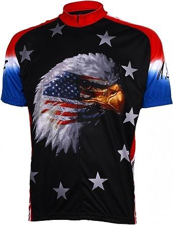 World Jerseys Men's American Eagle Cycling Jersey