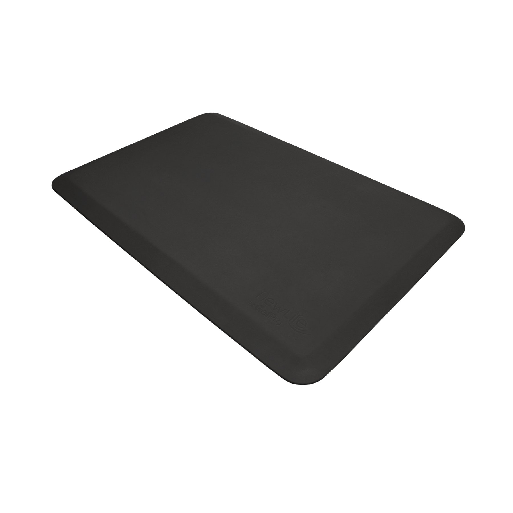 "NewLife by GelPro Anti Fatigue Mat: Eco-Pro Foam Anti-Fatigue Comfort Mat - Standing Desk Pad - Professional Floor Mats for Commercial & Industrial Work - 20"" x 32"" Non Slip Ergonomic Mat - Black"