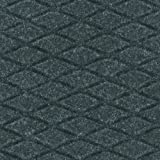 Andersen 441 Hog Heaven Fashion Nitrile rubber Anti-Fatigue Floor Mat, Nitrile/PVC Rubber Cushion Backing, 5' Length x 3' Width, 5/8'' Thick, Coal Black