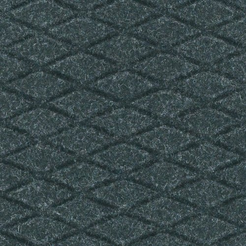 Andersen 441 Hog Heaven Fashion Nitrile rubber Anti-Fatigue Floor Mat, Nitrile/PVC Rubber Cushion Backing, 5' Length x 3' Width, 5/8'' Thick, Coal Black by The Andersen Company
