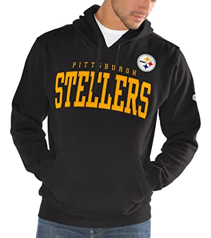 8bd4cabab GIII Apparel Pittsburgh Steelers Men s Playing Field Pullover Sweatshirt  Small