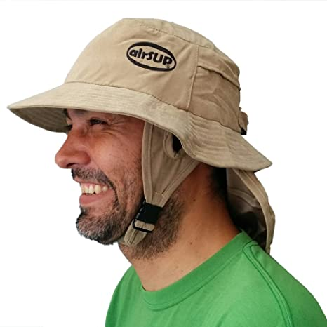 dd19148c451d06 airSUP Bucket Hat for Stand Up Paddle Surf & Sun Protection Wide Brim Fast  drying Polyester