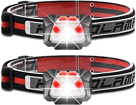 Kopflampe Usb Stirnlampen Aufladbar Led-Stirnlampe Laufen Wasser Stirnlampe Led