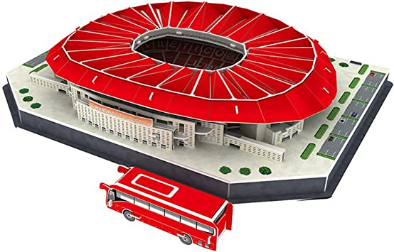 EP-model Modelo 3D del Estadio Deportivo, Club Atlético de Madrid ...