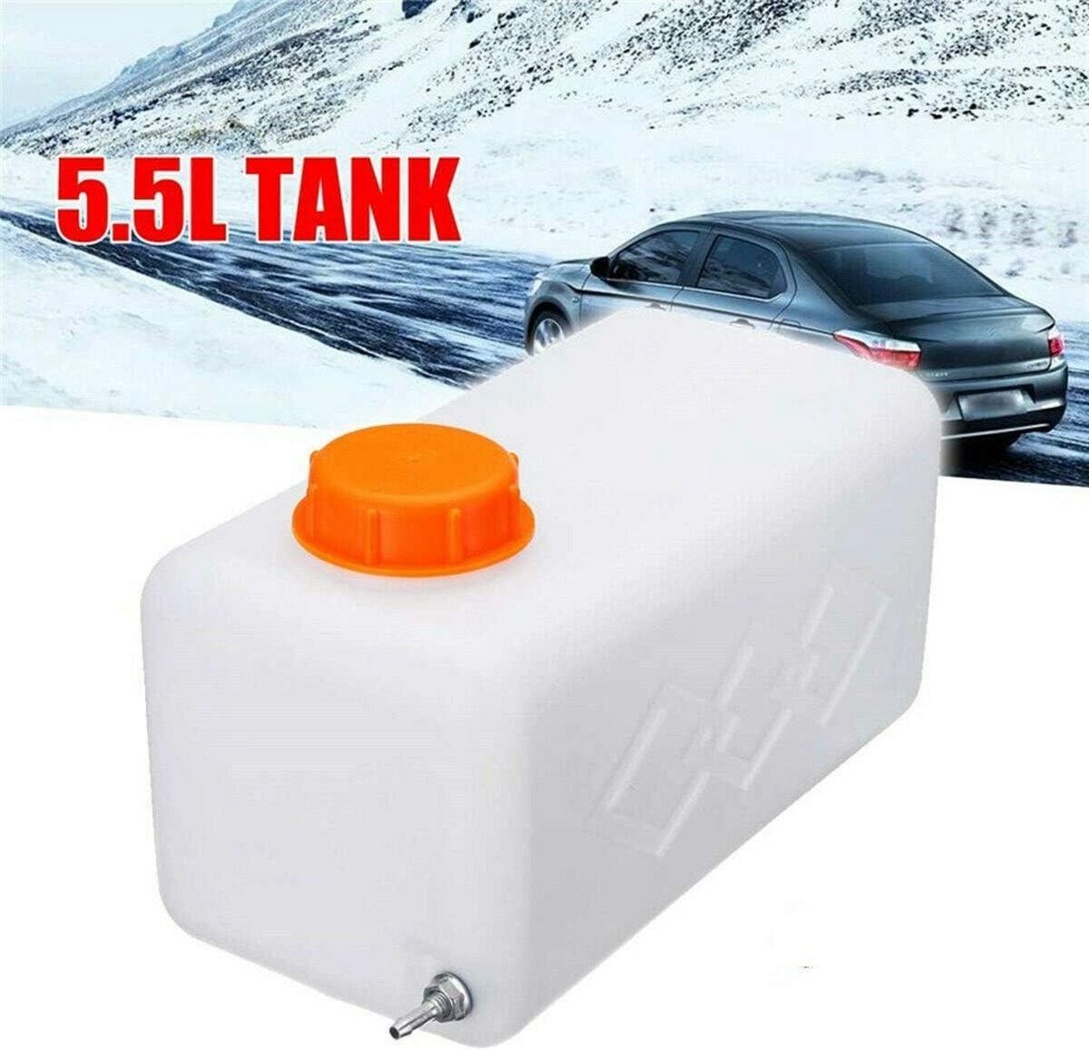 YanYun 5.5L Pl/áStico Calentador de Estacionamiento de Aire Tanque de Combustible Gasolina Almacenamiento de Aceite para Eberspacher Caravana Camiones Tanque Gasolina Aceite Combustible