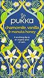 keurig bigelow chamomile - Pukka Organic Tea Caffeine Free, Chamomile, Vanilla and Manuka Honey, 6 Count