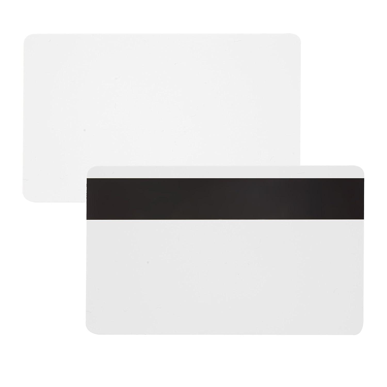100 x Karteo® Tarjetas plásticas PVC laminadas blanca con ...