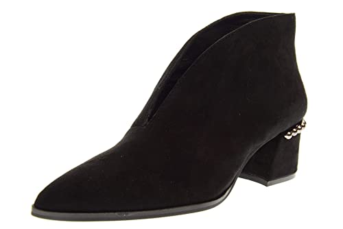 BRUNO PREMI Zapatos de Mujer Botines con tacón U7200X. Talla 40 Negro: Amazon.es: Zapatos y complementos