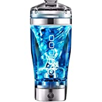 Mixer Shaker Bottle,Digoo 450ML Electric Protein Shaker/Smart Mixer Cup-Automatic Movement,Vortex,Leakproof,BPA Free…
