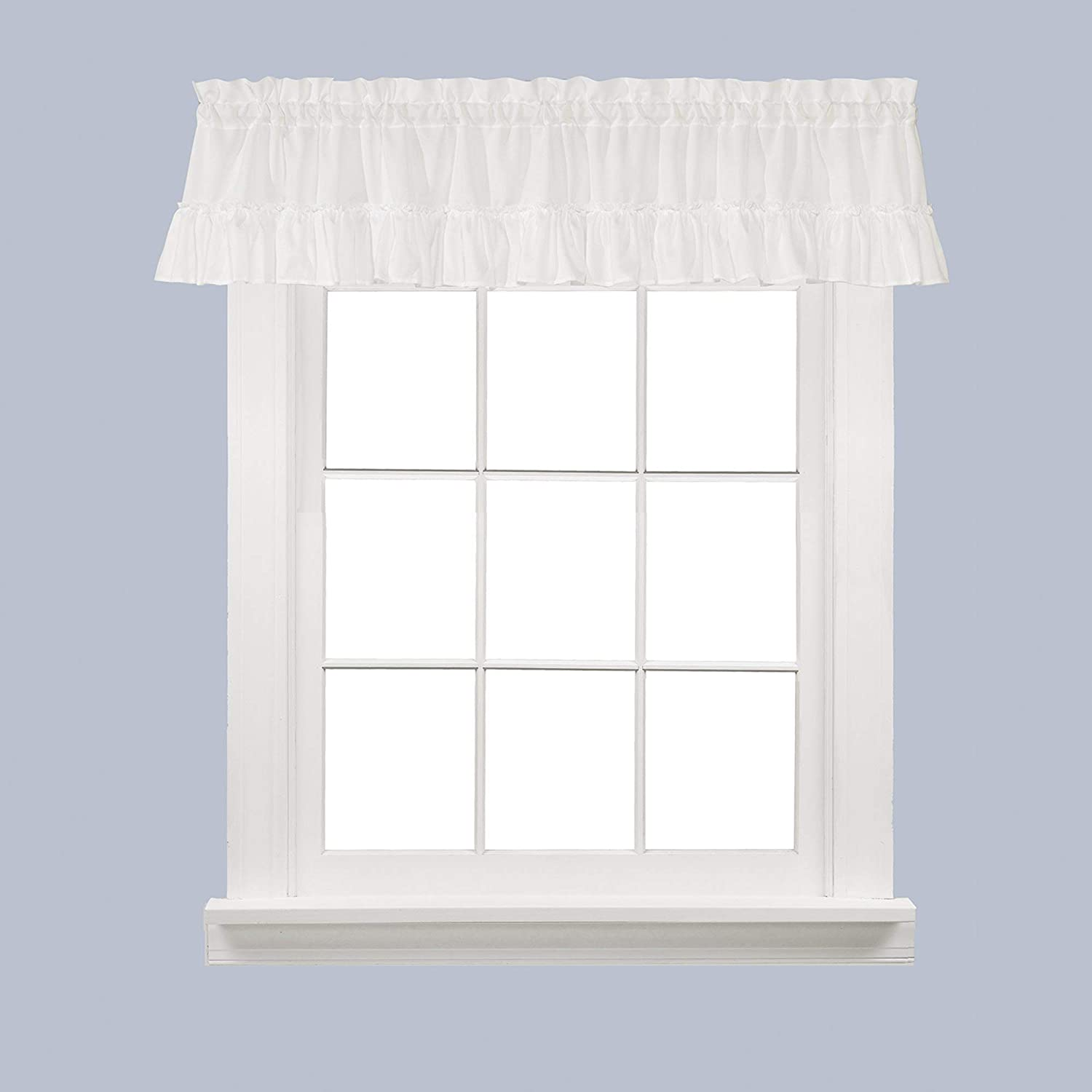 SKL Home by Saturday Knight Ltd. Sarah Valance 58 inches x 10 inches White