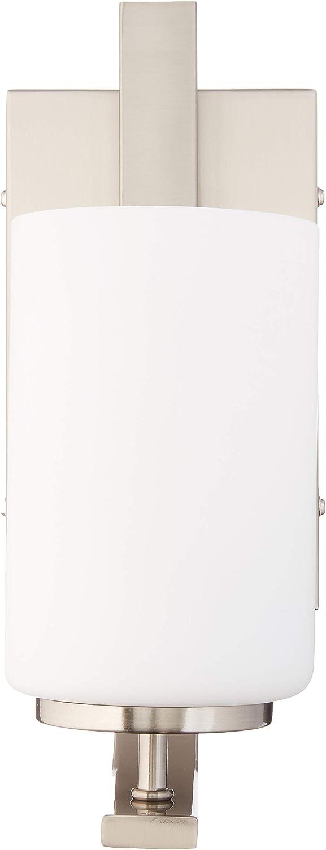 Elk Lighting TN0005217 Pendenza 1-Light Lamp in Brushed Nickel Vanity Wall Sconce