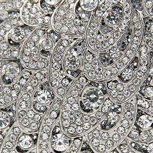 Di Diamanti Borsetta Pieno Diamante Borsa Di Lusso Fascia Forma Con Alta Donna 1 Uccello A Da Di Sera Da Di Da Sera 5 Z7Orq6Z