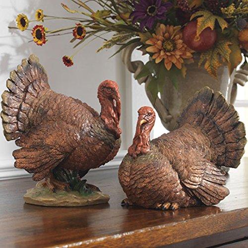 RAZ Imports - Thanksgiving - 10'' Turkeys - Set of 2