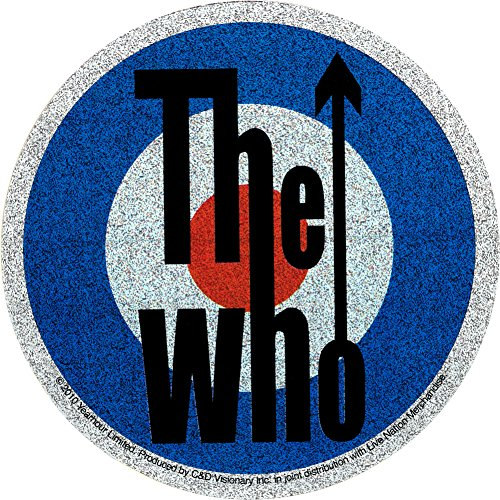 The Who Glittery Mod Target Sticker / Decal