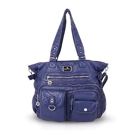NICOLE   DORIS Donna Borsa a tracolla borsa hobo borse a tracolla  multitasche Blu 35d94f03c64