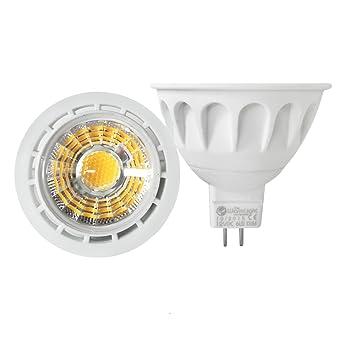 2-Confezione Faretti Luce Regolabile Premium MR16 GU5.3 6W Lampadina 12V