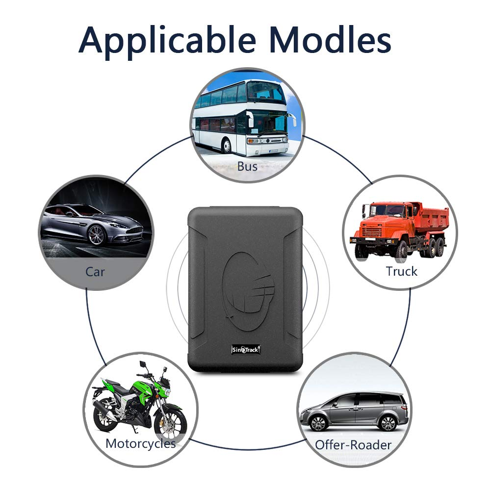 for Car Motorcycle etc SinoTrack GPS Tracker ST-915W 3G Strong Magnet Tracking Device Locator for Vehicles Bus Taxi Waterproof Real-Time Car GPS Tracker with Free Software