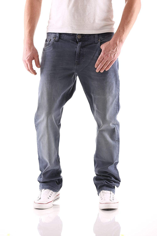 Big Seven Stanley Petrol Blau Regular Herren Jeans