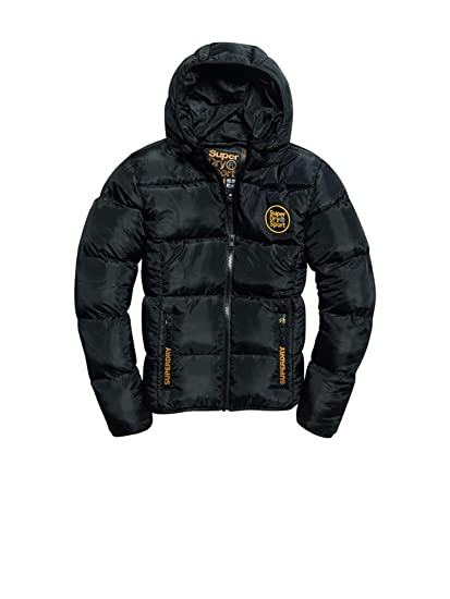f338ba8f87df9e Superdry MS3031AR Down Jacket Man: Amazon.co.uk: Clothing