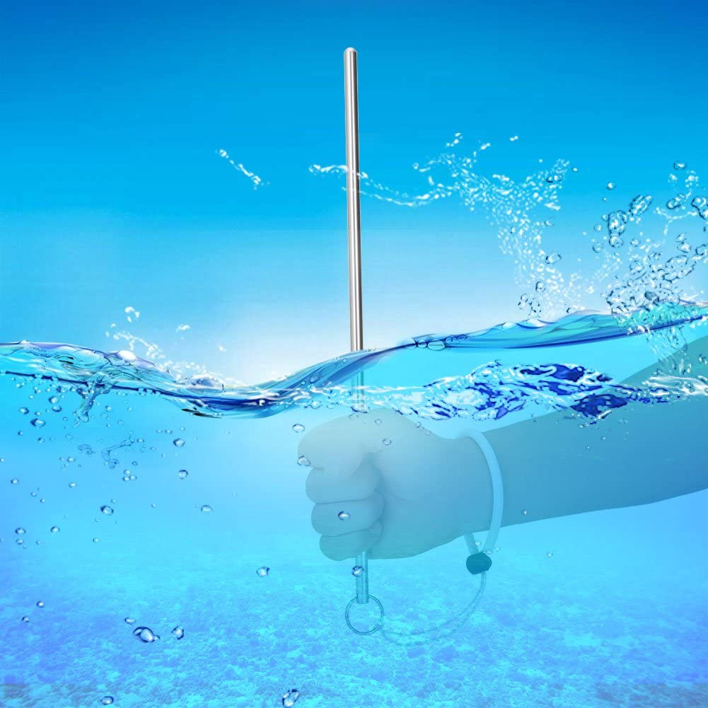 Scuba Riff Varilla Diving Stick 35/cm Bajo el agua Hummer Stick con correa de mano