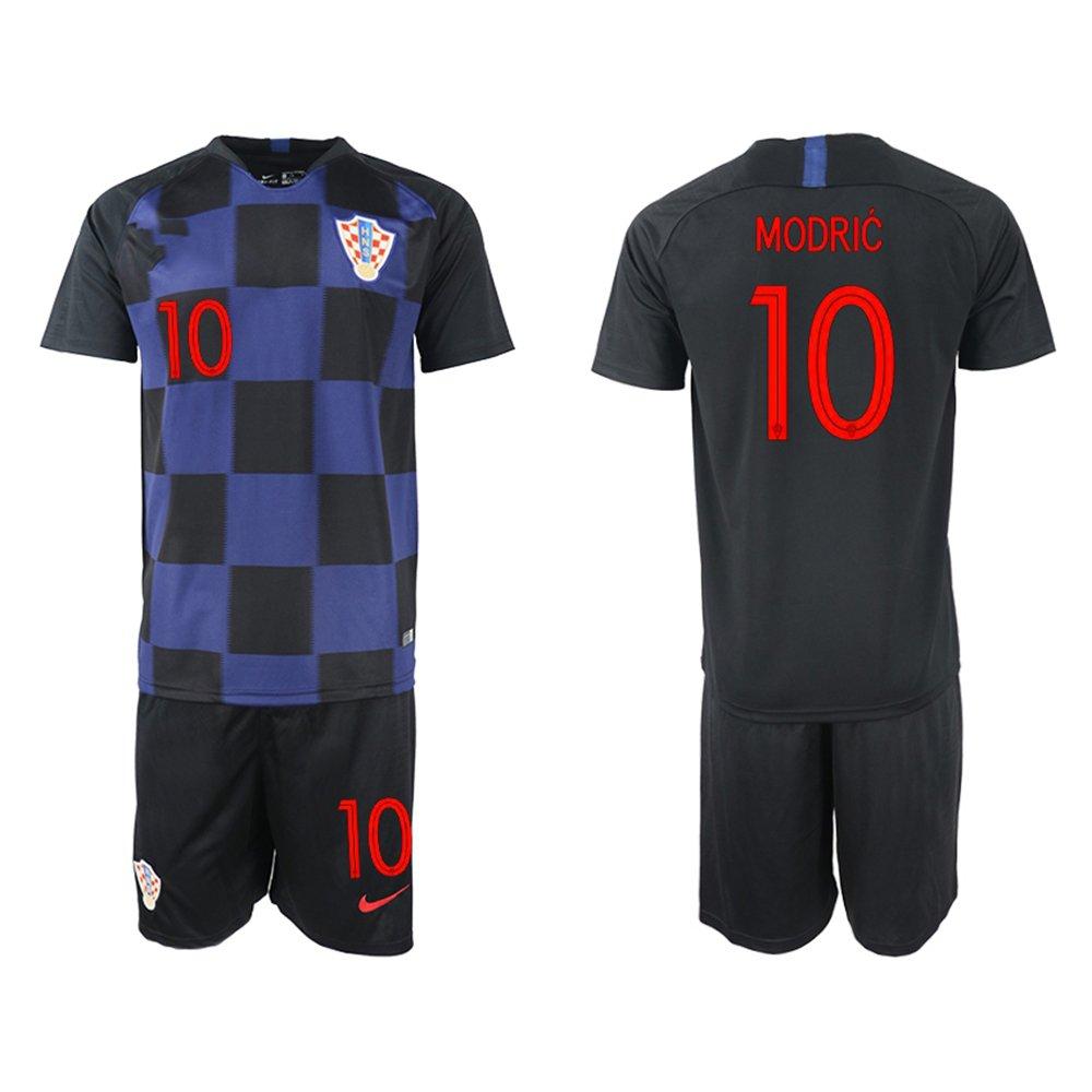 FASjey 2018/19 New Croatia Modric Away Men's Soccer Jersey