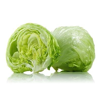 New!! - 300++ Iceberg Crisphead Lettuce Seeds Crisp!!! : Garden & Outdoor
