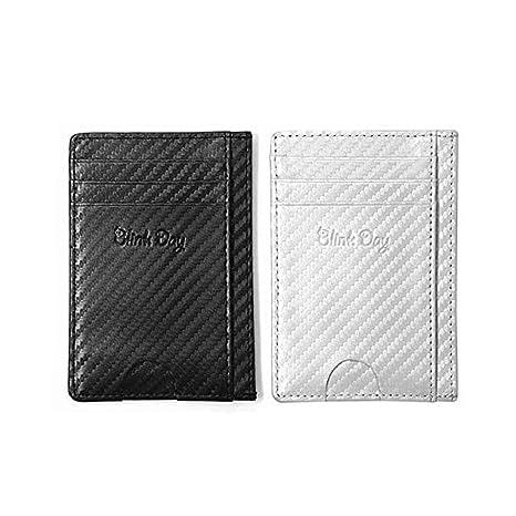 311c5f494a0a Amazon.com | 2pcs, Credit Card Holder Wallet - RFID Block Minimalist ...