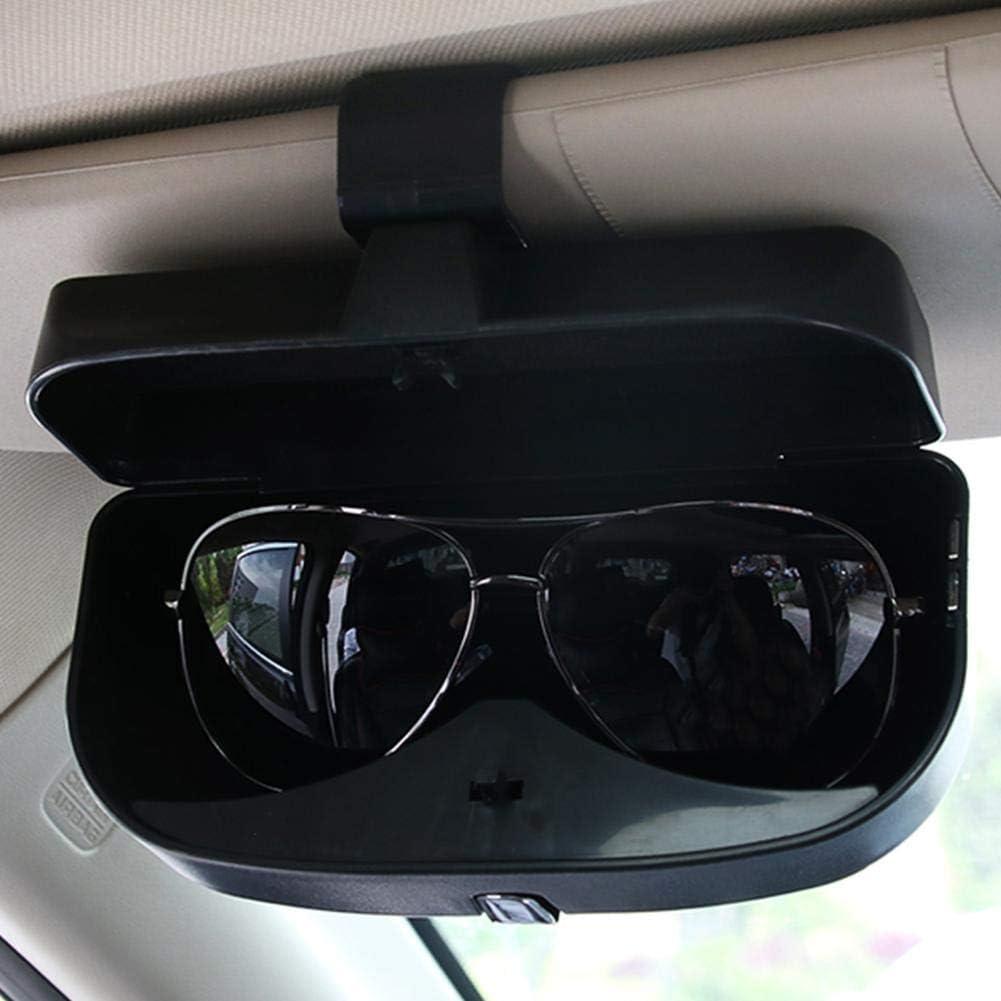dewdropy Brillenetui Auto Brillen Box Auto Sonnenschutz Bord Rechnungen Brillen Clip Multifunktionale Auto Brillen Aufbewahrungsbox