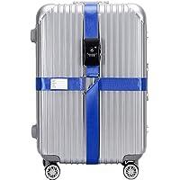 BlueCosto Azul TSA Correas para Equipaje Maleta
