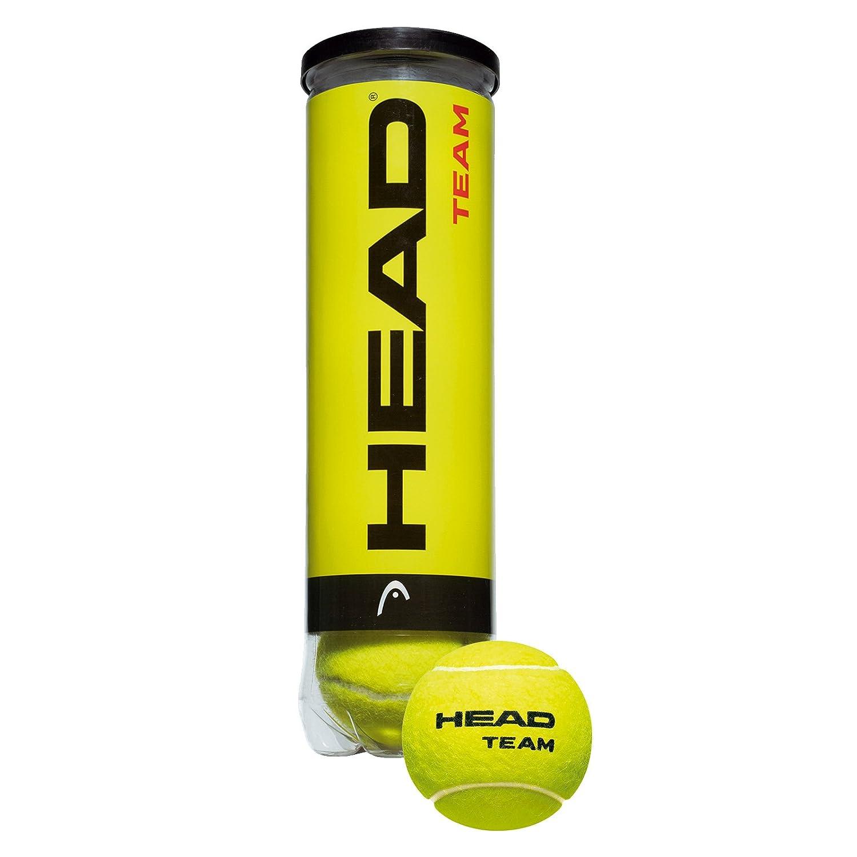 Head Team Tennisballs - 3 x 4er Tube - 12 balls: Amazon.es ...