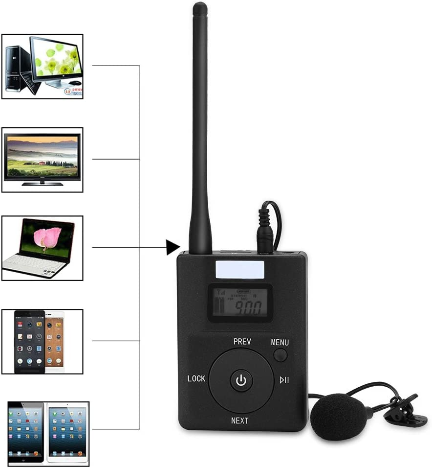 Tragbare Wireless Fm Transmitter 3 5 Mm Low Stereo Radio Broadcast Adapter Küche Haushalt