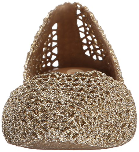 Papel Gold Melissa Ballet Vii Campana Sparkle Flat Women's 1TAqA6WwH