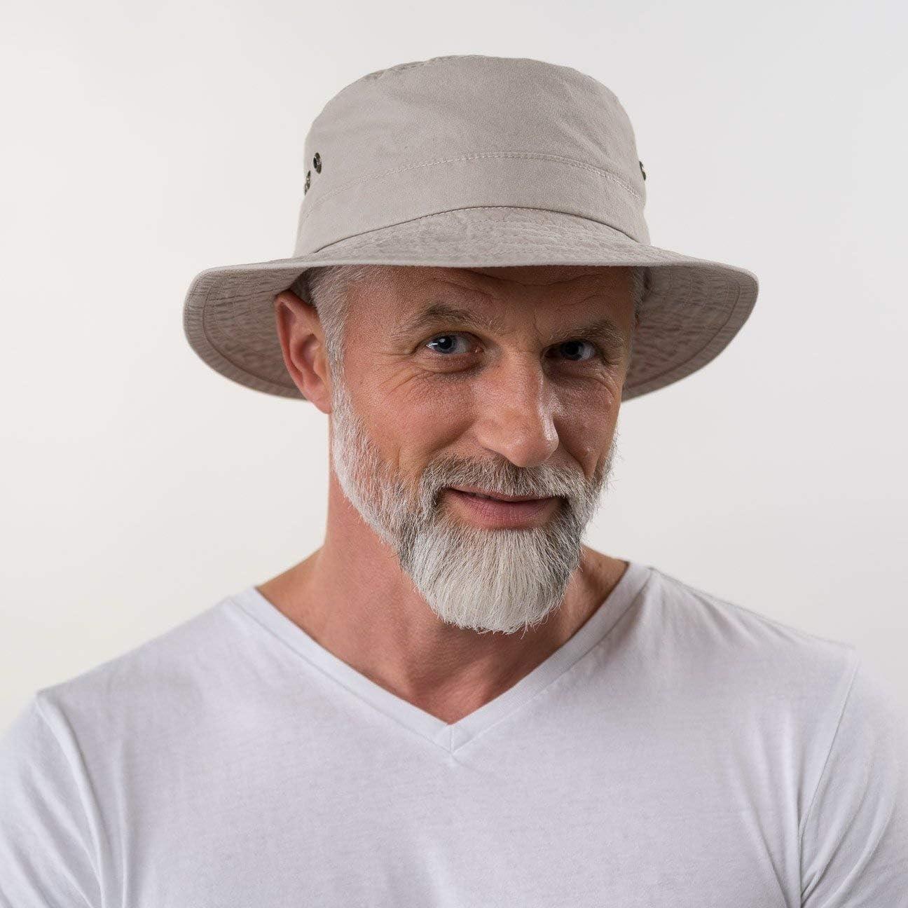 Vacanza Estivo Primavera//Estate Stetson Reston Cappello da Pescatore Donna//Uomo