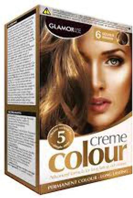 Glamorize crema color – Tinte permanente para pelo (6 opciones de color) [06 oro marrón, LL _ 0774]