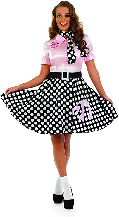 1950s Costumes- Poodle Skirts, Grease, Monroe, Pin Up, I Love Lucy fun shack Womens Ladies  AT vintagedancer.com