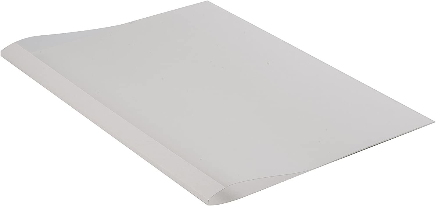 Fellowes Prestige Thermal Binding Coverlight 150 Microns PVC Front 170 g//m/Â/² Back Leather Structure White