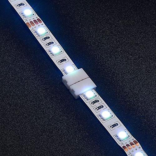 Gimax 2000pcs 8mm 10mm 4 Pin RGB LED Strip Connector 12mm 5 Pin RGBW Connector For SMD LED Strip Lights - (Color: 12mm 5pin, Connector Type: Panel Connector, Pins: 4P) by GIMAX (Image #7)