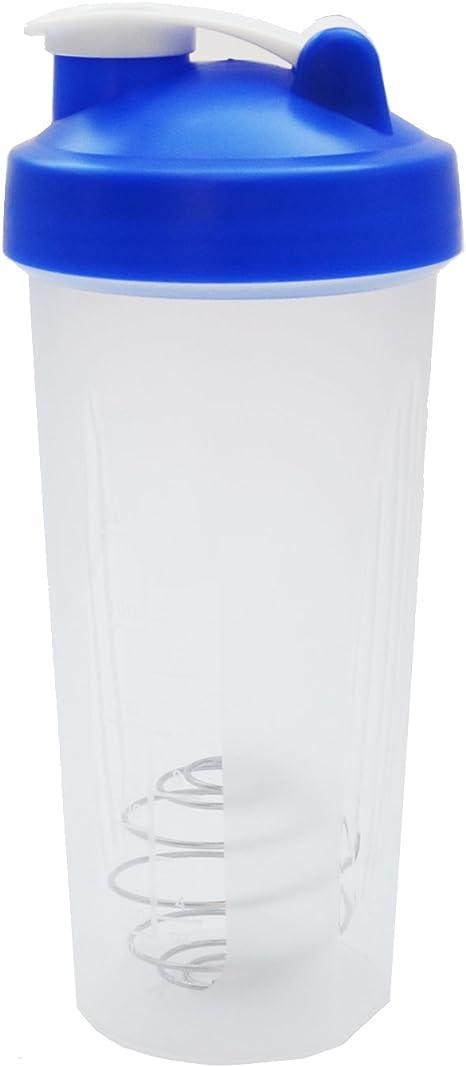 Homee Loop Top mezclador botella ejercicio mezclador de polvo ...