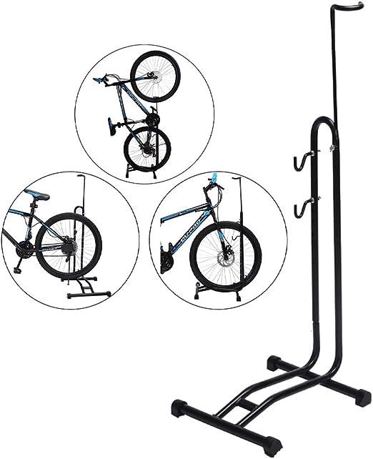 Bastidor de estacionamiento de bicicleta extraíble 3 en 1, soporte ...