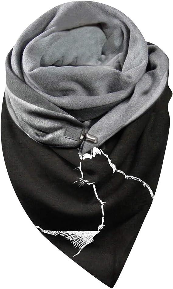 Y56 Halstuch Tuch für Männer Frauen, Damen Halstuch Dreieckstuch Schal perfekt wendbar mit