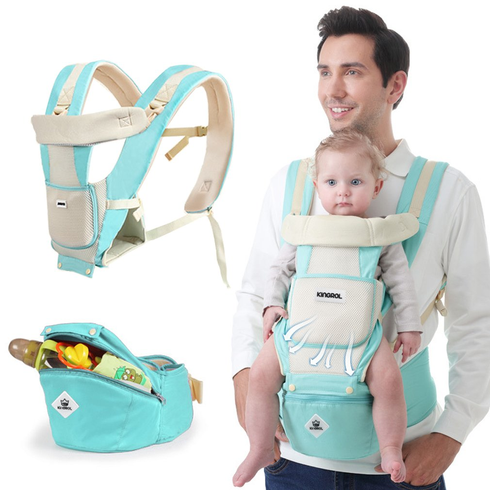 907458d5ffb Amazon.com   Baby Carrier Soft Sling All Carry with Hip Seat 360 Positions  Award-Winning Ergonomic Child and Newborn Seats(Green)   Baby