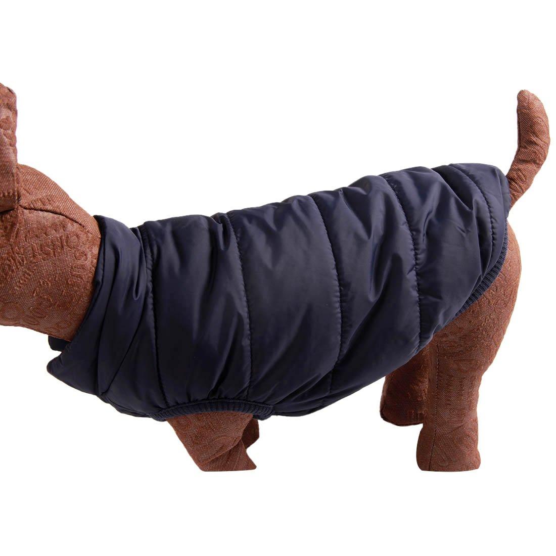 extra morbido con fodera in pile per linverno per cagnolini super caldo Joydaog 2/strati Gilet antivento // Cappotto per cani