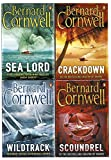Bernard Cornwell Collection 4 Books Set (Scoundrel, Wildtrack, Sea Lord, Crackdown)