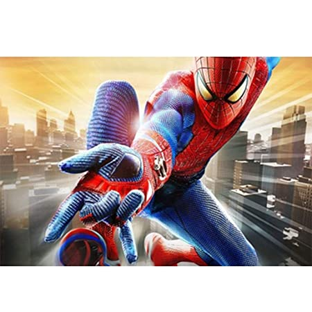AMY-ZW Rompecabezas De Madera De Spider-Man Comics Avengers ...