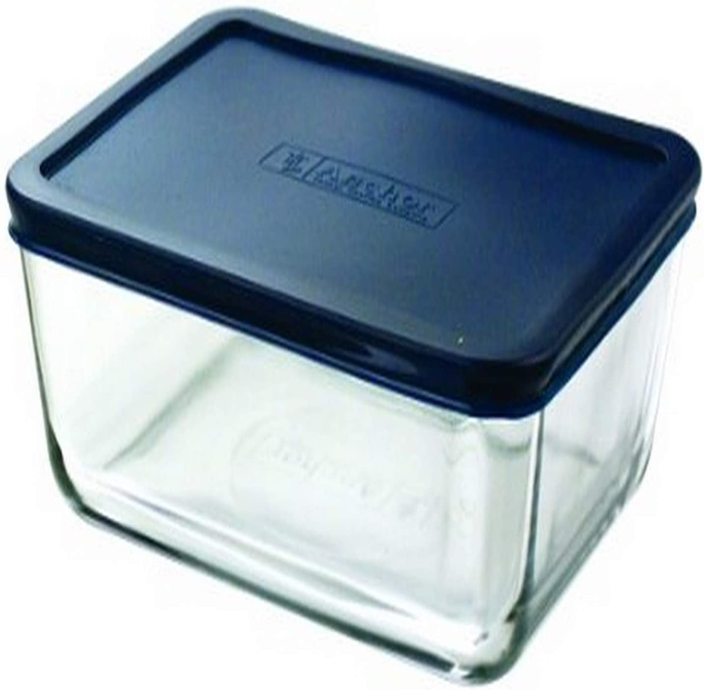 Anchor Hocking 11-Cup Rectangular Food Storage Containers, Blue, Set of 2 -