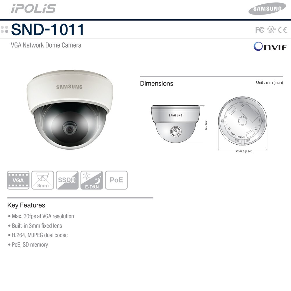 Samsung SND-1011 Network Camera Drivers