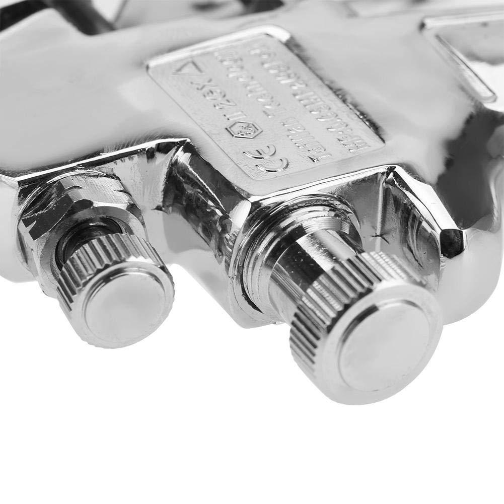 1.0mm Pistola a spruzzo pneumatica 1.0//1.3//1.5//1.8mm Ugello Modalit/à di alimentazione aspirazione Vernice ad aria Pistola a spruzzo Strumento pneumatico Salva vernice Fornisce un funzionamento